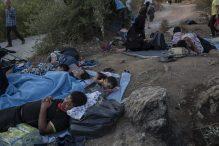 Malo ostalo od grčkog izbegličkog kampa Morija posle drugog požara 9