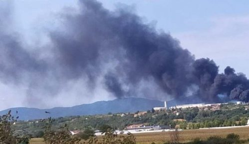 Požar u fabrici kod Niša lokalizovan 11