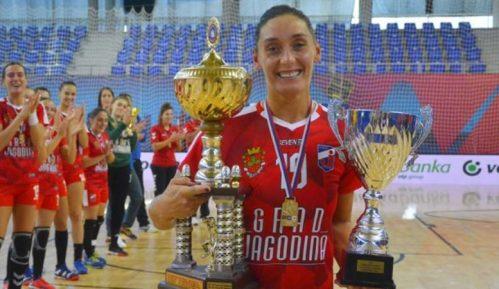 Rukometašice Jagodine osvojile Kup Srbije 10