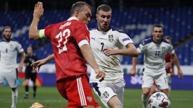 Fudbaleri Rusije savladali reprezentaciju Srbije na startu Lige nacija – 3:1 2