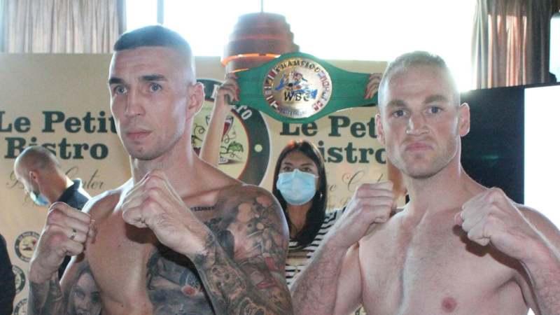 Održano zvanično merenje boksera za bokserski meč u Obrenovcu 1