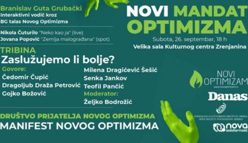 "U Zrenjaninu u subotu 26. septembra ""Novi mandat optimizma"" (VIDEO) 4"