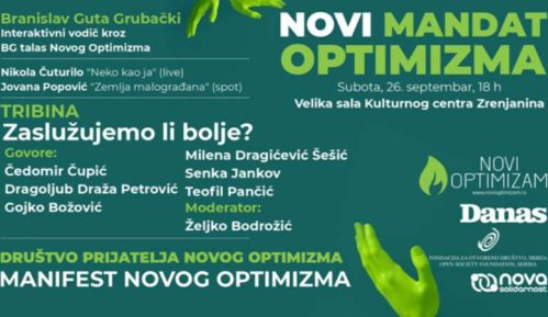 "U Zrenjaninu u subotu 26. septembra ""Novi mandat optimizma"" (VIDEO) 3"