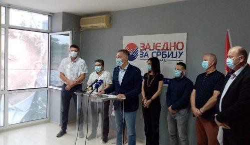 Zelenović: Borićemo se za slobodu do Strazbura 13