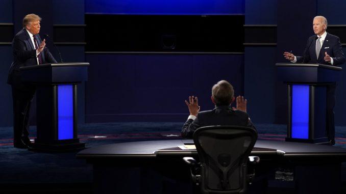 Haotična prva debata Trampa i Bajdena 4