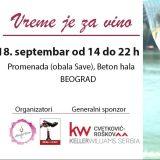 Salon ženskih vina u petak 18. septembra 13