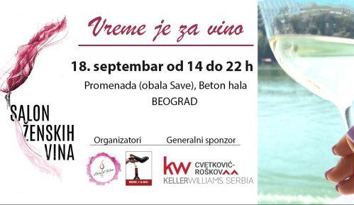 Salon ženskih vina u petak 18. septembra 10