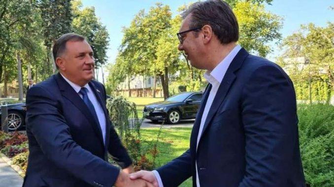 Dodik: Vučić uradio dobar posao u Vašingtonu 2
