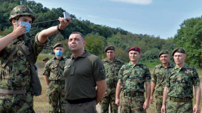 Vulin: Vojska Srbije se neprekidno priprema, vežba i obučava 3