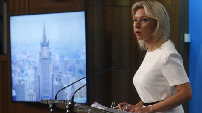 Zaharova pokazala da Moskva nikom ne veruje 3