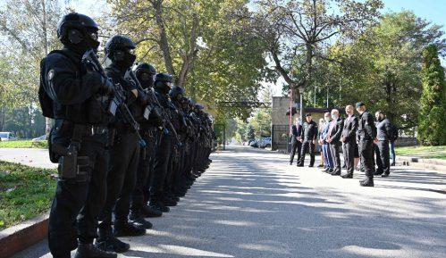 Rebić i Falkoni prisustvovali zajedničkoj antiterorističkoj vežbi pripadnika Specijalne antiterorističke jedinice MUP-a 11