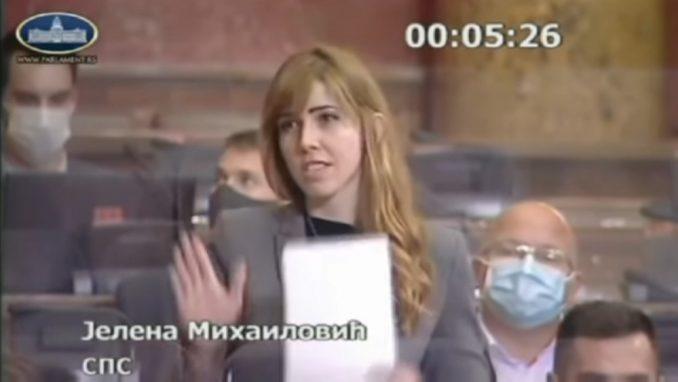 Jelena Mihailović: Skupštinska rep zvezda 3