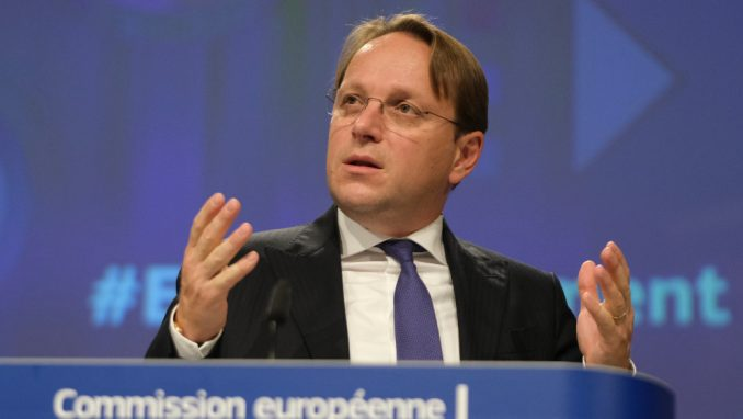 Varhelji: Crna Gora će morati da ispuni preporuke Evropske komisije 2