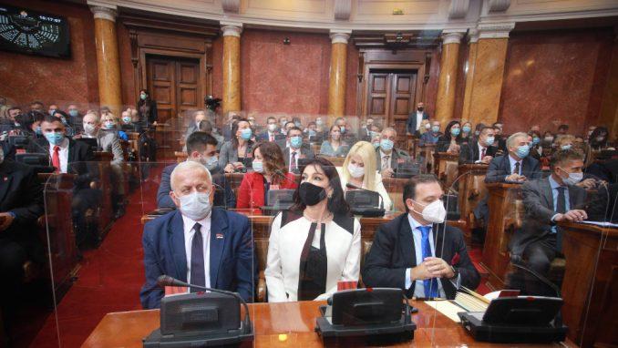 Usvojen Zakon o ministarstvima, poslanici u sredu o izboru Vlade 2