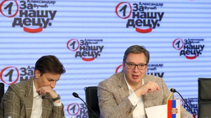 REM: Na televizijama tokom kampanje Vučić 170, a SNS 68 sati 2