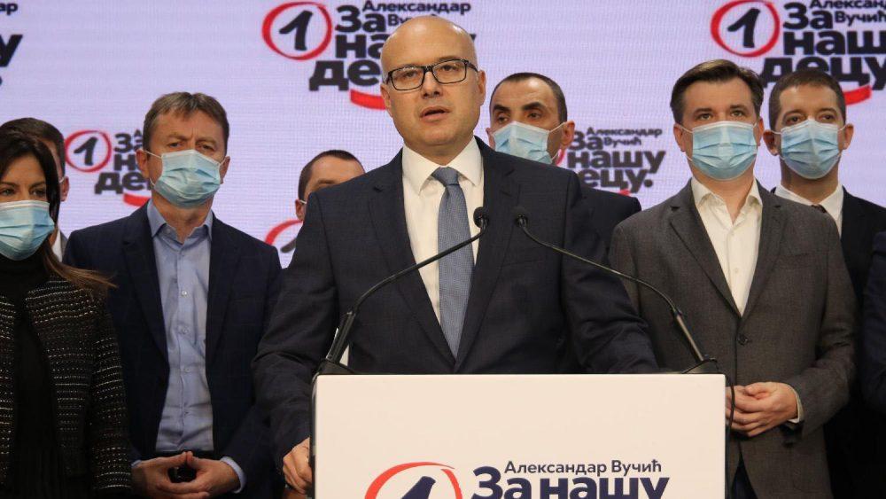 Vučević (SNS): Da sam na mestu Nebojše Stefanovića ponudio bih ostavku na sve funkcije 1