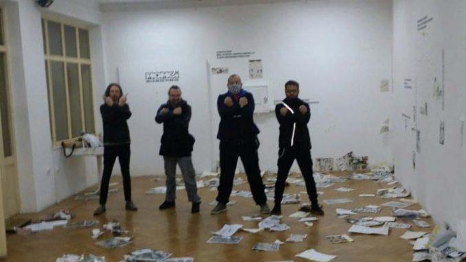 Nasilje na izložbi u Zemunu nastavak serije nesankcionisanih ekstremističkih ispada 1