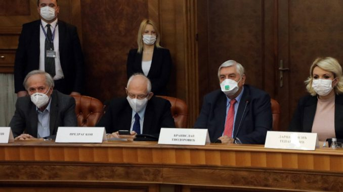 Bez izjava za novinare nakon sednice Kriznog štaba 5