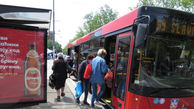 Promena trasa linija javnog prevoza za vreme otvaranja spomenika Stefanu Nemanji 3
