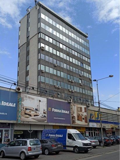 """Nekadašnja zgrada """"Timogradnje"""" u Zaječaru"""