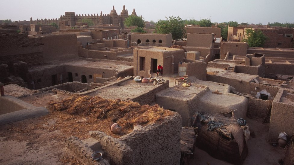 Houses in Djenné