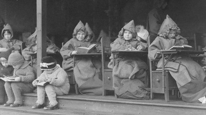 Korona virus i škole: Učenje na otvorenom kao odgovor na smrtonosnu bolest pre 100 godina 4
