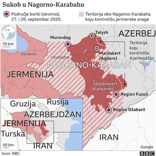 Jermenija, Azerbejdžan, Nagorno-Karabah