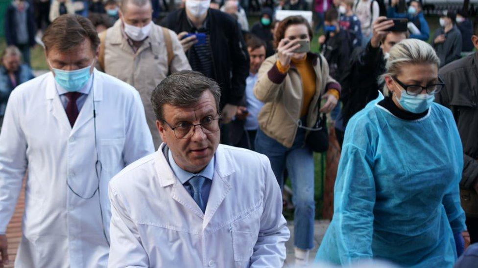 Doctors in Omsk, 21 Aug 20