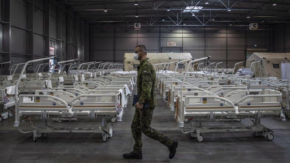 Letnany field hospital