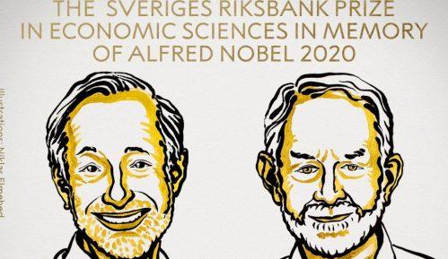 Dobitnici Nobelove nagrade za ekonomiju Pol Milgrom i Robert Vilson 13