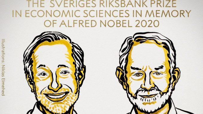 Dobitnici Nobelove nagrade za ekonomiju Pol Milgrom i Robert Vilson 4
