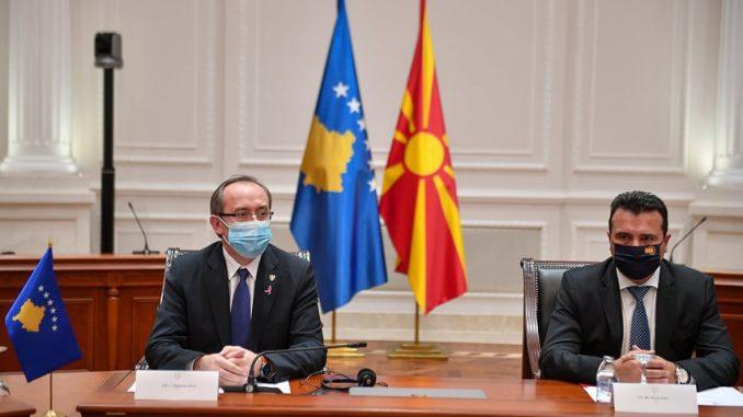 Zaev i Hoti: Odnosi Severne Makedonije i Kosova vrlo dobri 1