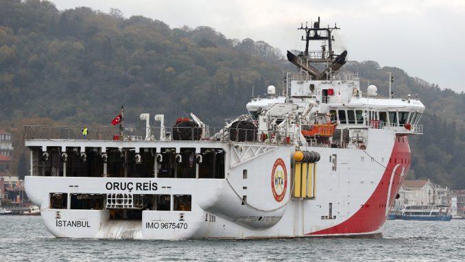 Turski brod ponovo u spornim vodama 1