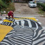 Slikanje Zebri i u Čačku 6