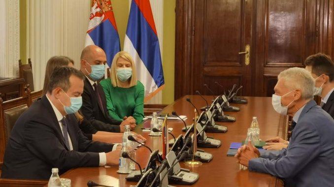 Ruski ambasador posetio Dačića na novoj funkciji 3