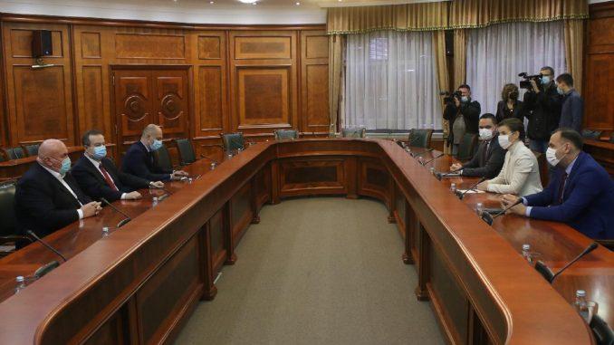 O novoj Vladi mandatarka razgovarala sa Palmom, Dačićem i Šapićem 4