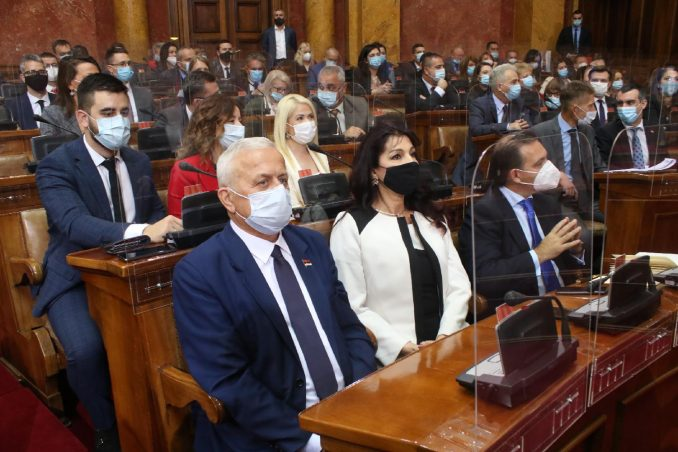 Skupština Srbije 8. decembra o predlogu državnog budžeta za 2021. godinu 2