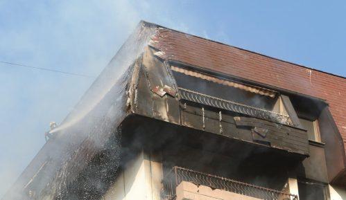 MUP: Lokalizovan požar u zgradi na Dorćolu 14