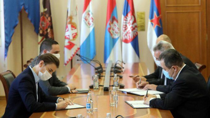 Brnabić preuzela od Dačića dužnost šefa diplomatije do izbora nove Vlade 3