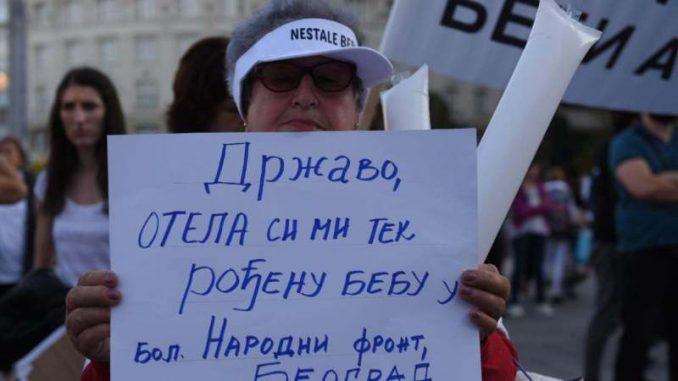 Protest roditelja nestalih beba: Naša borba predugo traje 3