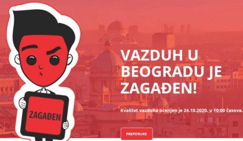 Beograd treći grad na svetu po aerozagađenju 2