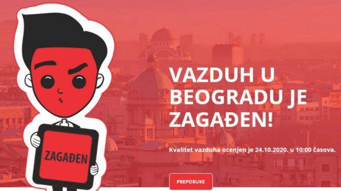 Beograd treći grad na svetu po aerozagađenju 3