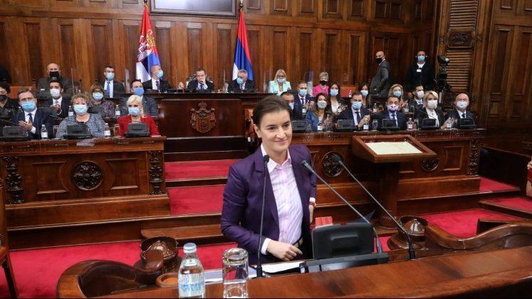 Nova Vlada položila zakletvu pred poslanicima Skupštine Srbije 2