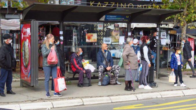 Zbog mera još 236 autobusa u Beogradu 1
