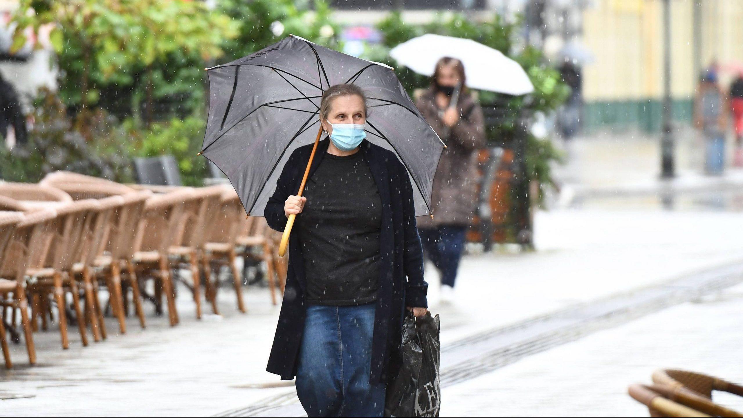 U Srbiji danas svežije vreme, mestimično s kišom i pljuskovima s grmljavinom 1