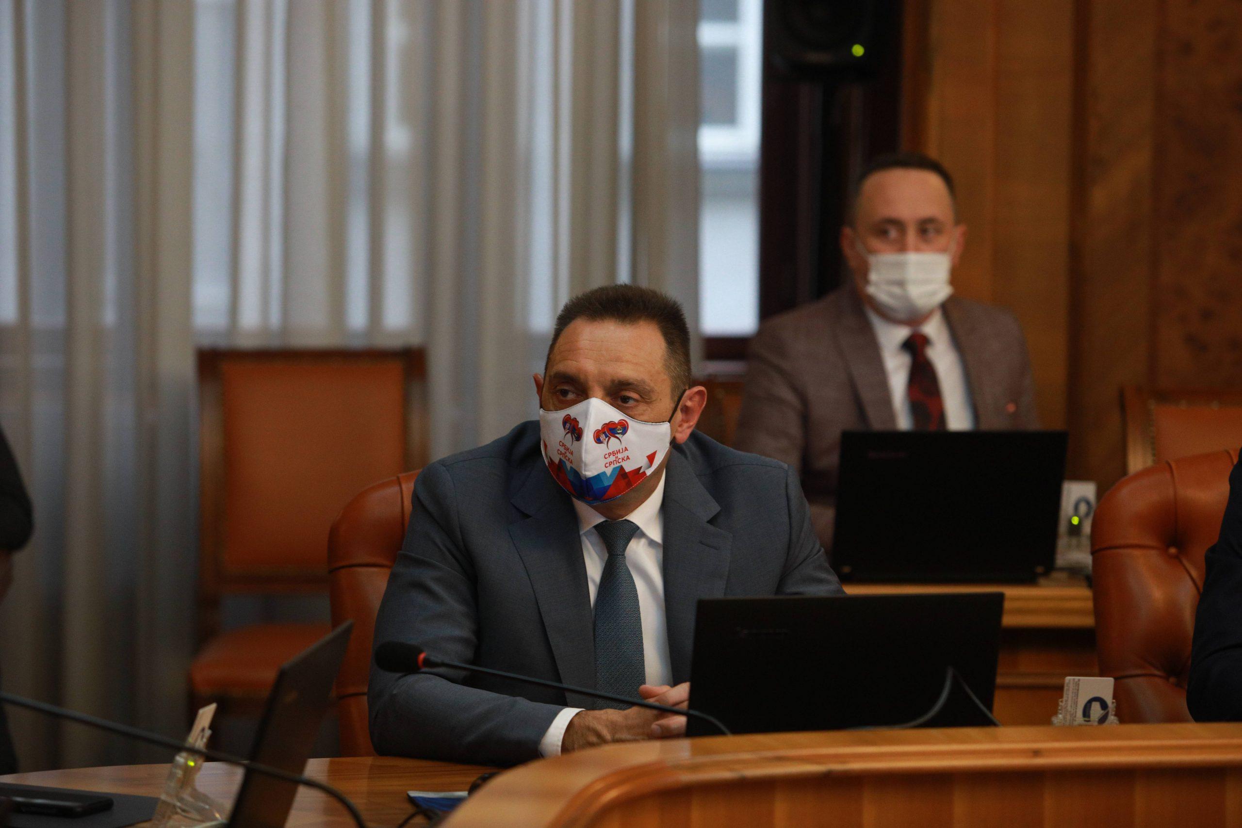 Vulin: Broj hrvatskih vojnika na Kosovu određen je Rezolucijom 1244 a ne dogovorom braće po oružju 1