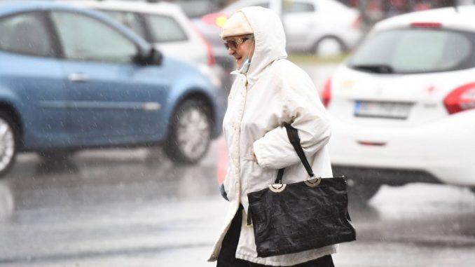 U Srbiji sutra oblačno i hladnije, na jugu i istoku mogući kiša i sneg 4