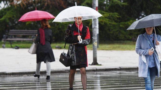 U Srbiji oblačno i hladnije, mestimično sa kišom 1