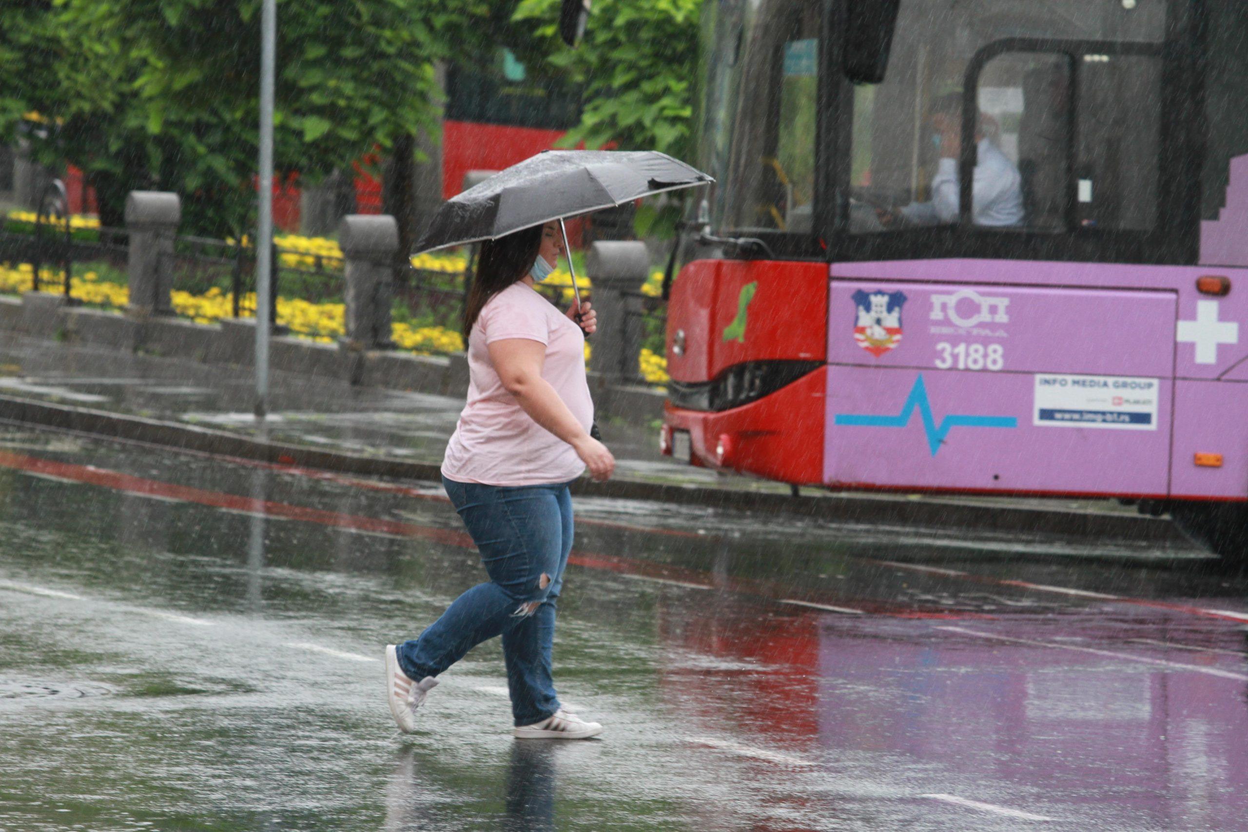 U Srbiji danas oblačno i kišovito vreme 1