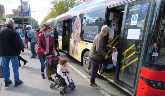 Izmena režima rada linija javnog prevoza tokom radova na Keju oslobođenja 13